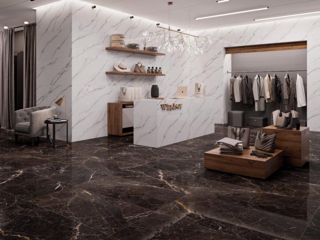 Fanl Windsor Black Carrara