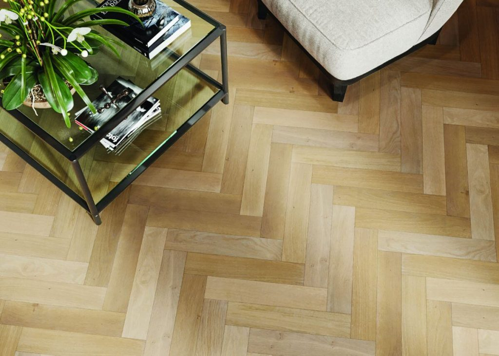Oak Herringbone Wg 4